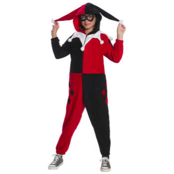 Picture of HARLEY QUINN ONESIE - LARGE