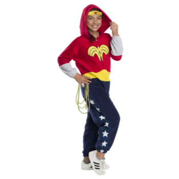 Picture of WONDER WOMAN ONESIE - MEDIUM