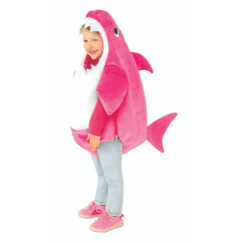 Image de BABY SHARK ROMPER - PINK - INFANT