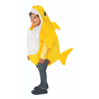 Image de BABY SHARK ROMPER - YELLOW - SMALL