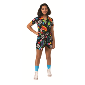 Picture of STRANGER THINGS - ELEVEN MALL ROMPER - MEDIUM