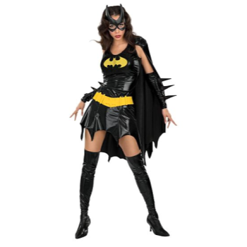 Picture of BATGIRL DELUXE - EXTRA SMALL