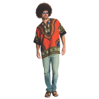 Image de 60'S HIPPIE SHIRT - ADULT - EXTRA LARGE