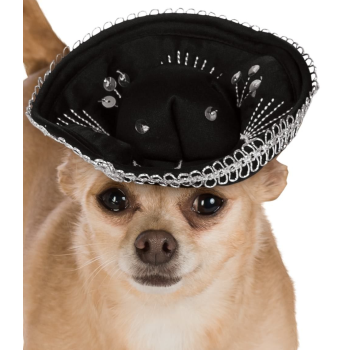 Image de SOMBRERO BLACK/SILVER - MEDIUM/LARGE