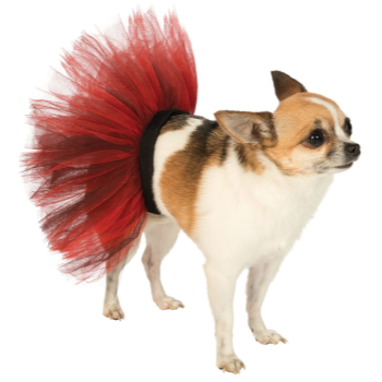 Image de TUTU RED/BLACK - SMALL/MEDIUM
