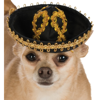 Image de SOMBRERO BLACK/GOLD - MEDIUM/LARGE