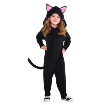 Picture of BLACK CAT ZIPSTER - KIDS SMALL