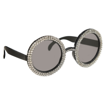 Picture of 70'S - OVERSIZE CRYSTAL SUNGLASSES