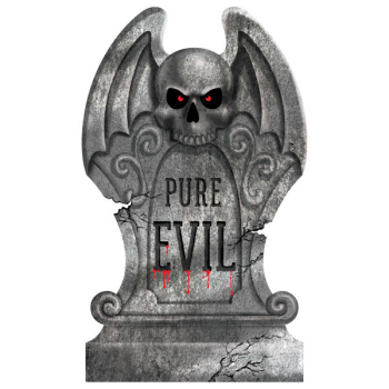 Picture of PURE EVIL FOAM TOMBSTONE