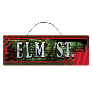 Picture of NIGHTMARE ON ELM STREET MDF HANGING SIGN
