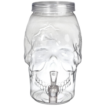Picture of SKULL PLASTIC DRINK DISPENSER