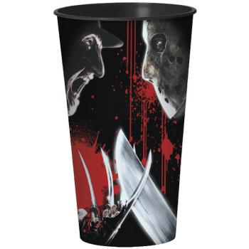 Image de FREDDY VS JASON PLASTIC 32oz CUPS