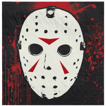 Picture of FRIDAY THE 13TH - BEVERAGE NAPKINS