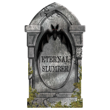 Picture of ETERNAL SLUMBER FOAM TOMBSTONE