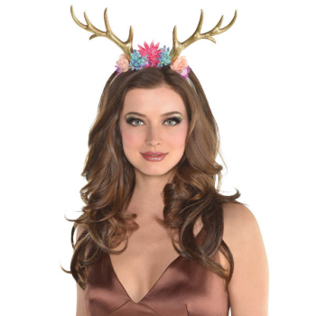 Image de ANIMAL - DEER FLORAL HEADBAND