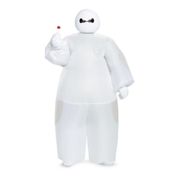 Image de INFLATABLE WHITE BAYMAX COSTUME - ONE SIZE