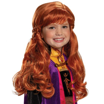 Image de FROZEN ANNA WIG - CHILD
