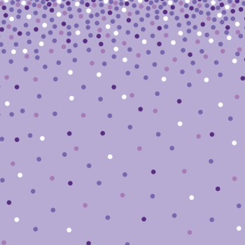 Image de JUMBO GIFT WRAP 16' - PURPLE SCATTER DOT