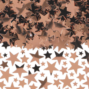 Image de ROSE GOLD STAR CONFETTI