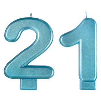 Picture of 21st - FINALLY 21 NUMERAL CANDLE