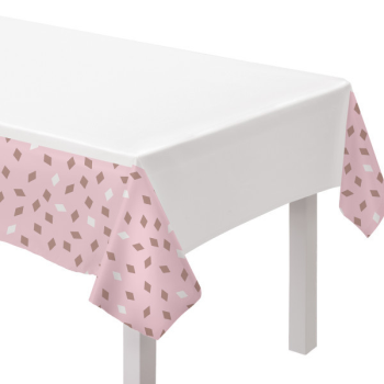 Picture of TABLEWARE - BLUSH BIRTHDAY TABLE COVER