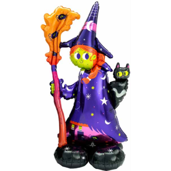 Picture of AIRLOONZ - SCARY WITCH - AIR FILLED