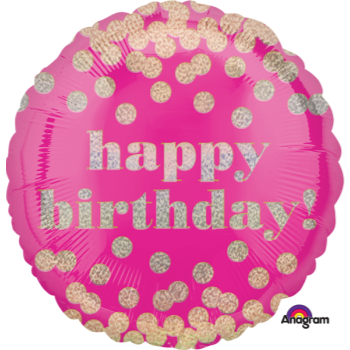 "Picture of 18"" FOIL - HAPPY BIRTHDAY DOTTY"