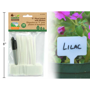 Picture of 20 PIECE GARDEN PLANT LABELS - (CHEESE MARKERS)