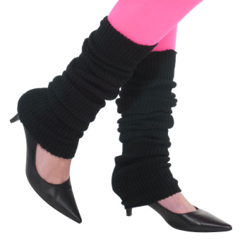 Picture of 80'S BLACK LEG WARMERS