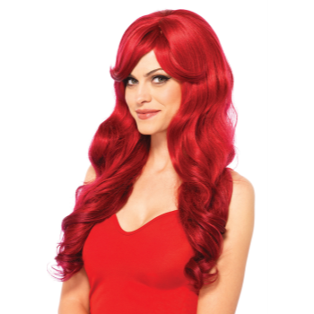 Picture of WIG - LONG WAVY - RED