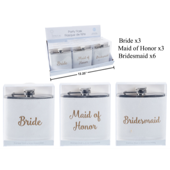 Picture of BRIDAL PARTY FLASK