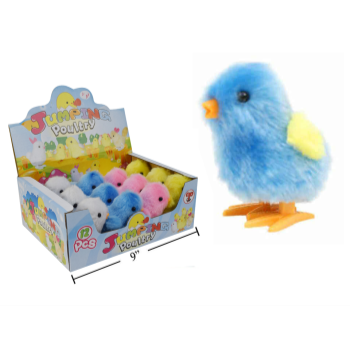 Picture of DECOR - WIND UP EASTER COLOURFUL CHICKS