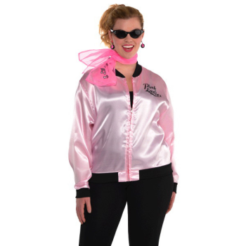 Image de 50'S PINK LADIES JACKET - ADULT PLUS