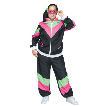 Picture of 80'S TRACK SUIT - ADULT 1X