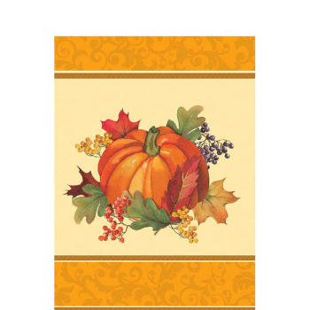 Picture of BOUNTIFUL HARVEST ALL-OVER PRINT PAPER TABLE COVER