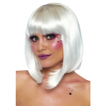 Picture of WIG - PEARL SHORT NATURAL BOB - WHITE