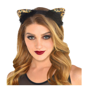 Image de ANIMAL - CHEETAH CAT EARS HEADBAND
