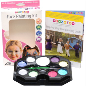 Image de SNAZAROO - MAKE UP PALETTE KIT - ASSORTED