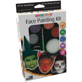Image de SNAZAROO - MAKE UP PALETTE KIT - HALLOWEEN
