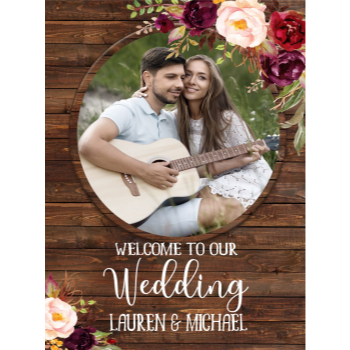 Picture of LAWN YARD SIGN - WEDDING - PERSONALIZE
