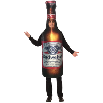 Picture of BEER BUDWEISER BOTTLE - ADULT COSTUME ONE SIZE