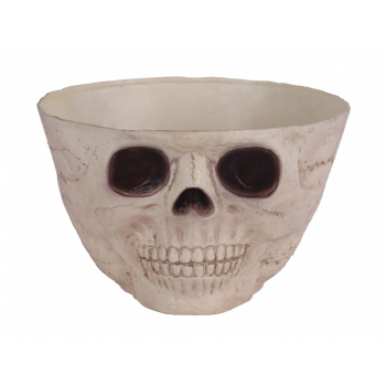 "Picture of 9.5"" SKULL CANDY BOWL"