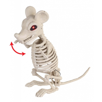 Picture of SKELETON RAT - ANIMATED W/LIGHT UP EYE/SOUND