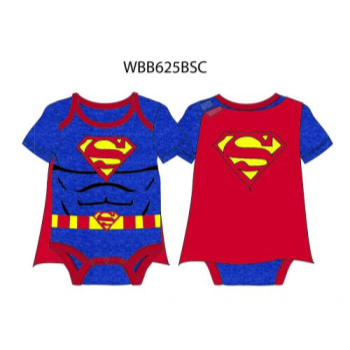 Image de SUPERMAN CAPED BODYSUIT - 0-3 MONTH