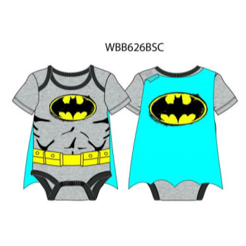 Image de BATMAN CAPED BODYSUIT - 0-3 MONTH