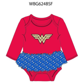 Image de WONDER WOMAN TUTU BODYSUIT - 0-3 MONTH