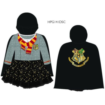 Image de HARRY POTTER DRESS WITH HOODED CLOAK - 3T