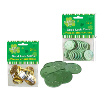 Picture of DECOR - ST. PATRICK'S GOOD LUCK COINS