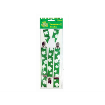 Picture of WEARABLES - SHAMROCK SUSPENDERS