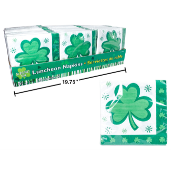Picture of TABLEWARE - ST PATRICK'S LUNCHEON NAPKINS